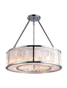 Rv Astley Aston 9 Light Chandelier Nickel by Houseology