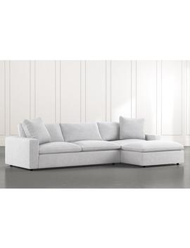 Utopia 2 Piece Sectional With Right Arm Facing Chaise by Living Spaces