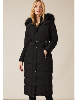 Mabel Long Puffer Coat by Phase Eight