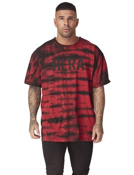 T Shirt   Red Tie Dye by Hera