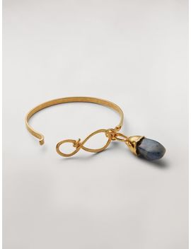 Rigid Stones Bracelet In Metal And Stone by Marni