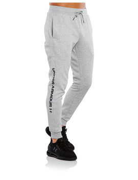 Under Armour Mens Rival Logo Joggers by Under Armour