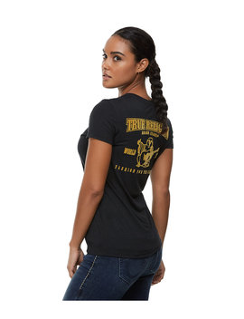 Logo Back Tee by True Religion