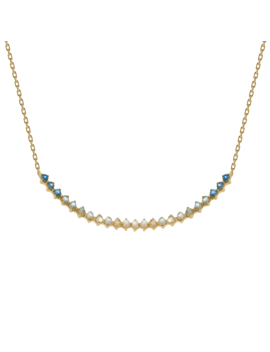 Azure Gold Necklace by P D Paola