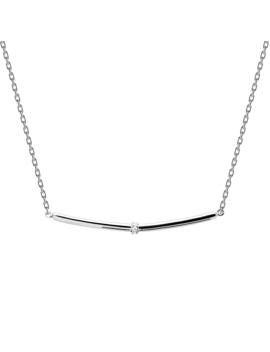 Horizon Silver Necklace by P D Paola