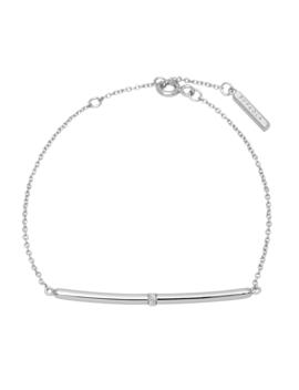 Horizon Silver Bracelet by P D Paola