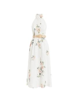 Kirra Halterneck Long Dress by Zimmermann