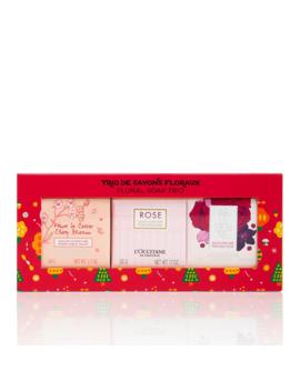 Floral Soap Trio by L'occitane