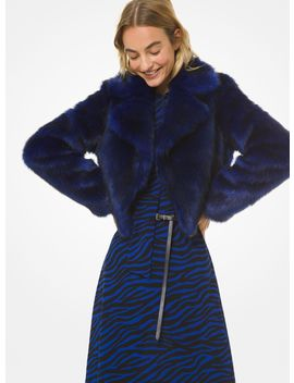 Faux Fur Jacket by Michael Michael Kors