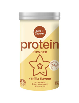 Keep It Cleaner Protein Powder Vanilla 375g by Woolworths