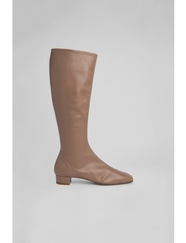 Edie Nude Leather by By Far