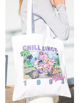 Chill Since 1993 Malibu Tote Bag by Brandy Melville