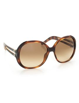 Chloe 58mm Rounded Frame Gradient Lens Sunglasses W/ Case by Shop Hq