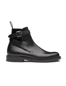 Botte à Brides, Liant Poli Noir by Church's Footwear