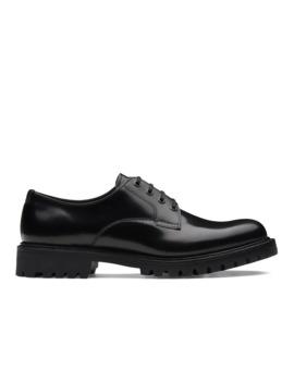 Derby à Liant Poli Noir by Church's Footwear