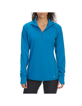 Ems Women's Techwick Dual Thermo Ii Half Zip Pullover by Eastern Mountain Sports