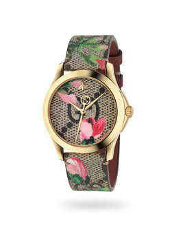Gucci Floral Bloom Ladies Watch by Goldsmiths
