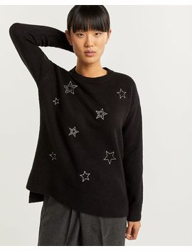 Star Embroidery Sweater by Reitmans