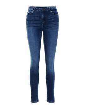Nmlolly High Waist Cropped Slim Fit Jeans by Vero Moda