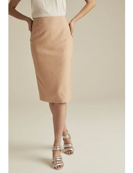 Occasion Jacquard Suit Skirt by Long Tall Sally