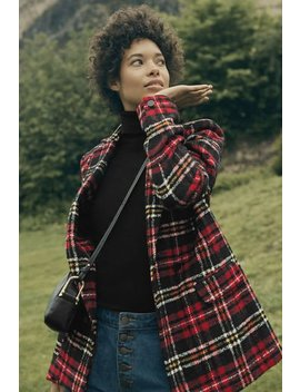 Tweedy Tartan Jacket by Long Tall Sally