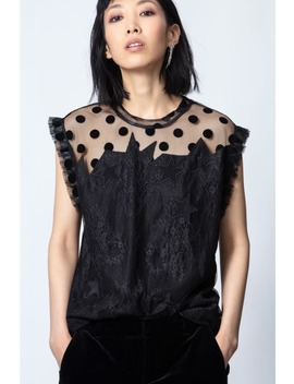 Tetro Lace Top by Zadig & Voltaire