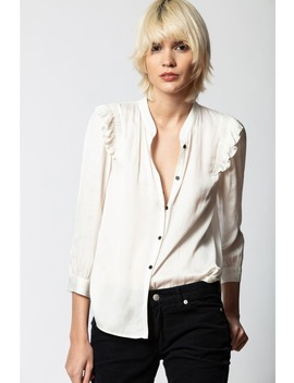 Tygg Satin Shirt by Zadig & Voltaire