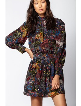 D Ross Print Dress by Zadig & Voltaire