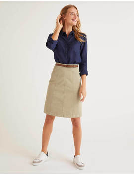 Daisy Chino Skirt by Boden