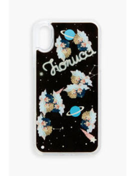 Fiorucci Liquid Space Angels I Phone Case  Fiorucci Liquid Angels Glitter I Phone Case    Fiorucci Playing Cards    Tara Patch Tapered Jean    Angels Sweatshirt Pale Pink by Fiorucci