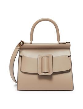 'karl 24' Small Flapover Satchel Buckle Top Handle Bag by Boyy
