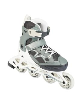 Oxelo Fit 3 Kids' Fitness Skates   Grey by Oxelo