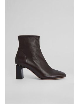 Vasi Dark Brown Leather by By Far