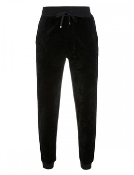 Boss Bodywear Black Velour Sweatpants by Boss