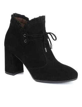 Heeled Suede Ankle Boot by Nero Giardini