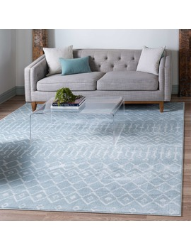 8' X 8' Kasbah Trellis Square Rug by E Sale Rugs