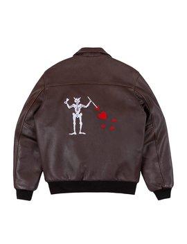 A 2 Blackbeard Leather Jacket by Noah Nyc