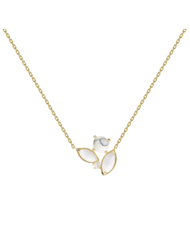 Atena Gold Necklace by P D Paola