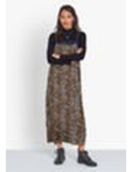 Lace Trim Slip Dress by Hush