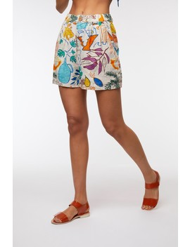 Athena Linen Short by Gorman