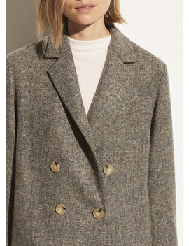 Pebble Texture Wool Jacket by Vince