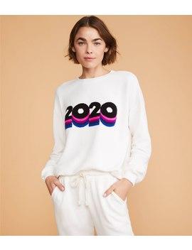 2020 Stripe Terry Sweatshirt by Lou & Grey