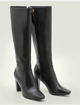 Waveney Knee High Boots by Boden