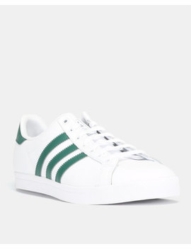 Adidas Originals Coast Star Sneakers Ftwwht/Cgreen/Ftwwht by Adidas Originals