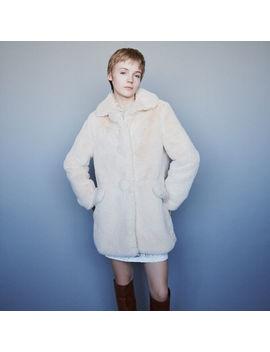Faux Fur Coat by Maje