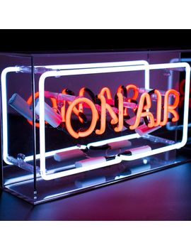 Acrylic On Air Neon Box by Men Kind