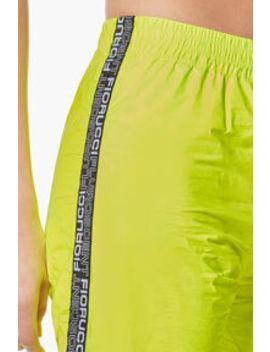 Tyvek Jogger Neon Green  Tyvek Jogger Neon Pink    Tyvek Bomber Neon Green    Citrus Print T Shirt Black by Fiorucci