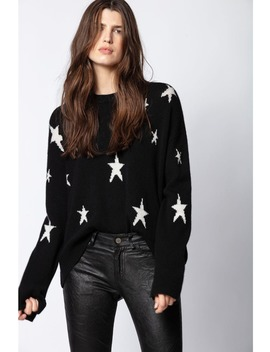 Markus Cashmere Star Sweater by Zadig & Voltaire