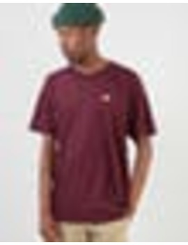 Dickies Stockdale T Shirt   Maroon by Route One
