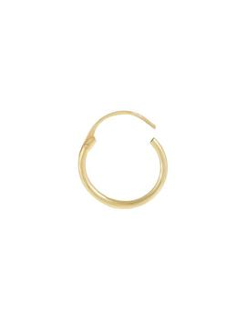 Thin Solid Cartilage Hoop Earring 14 K by Adina's Jewels